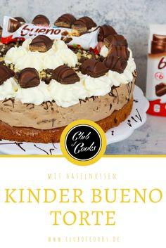 Was ist besser als ein Kinder Bueno Riegel? Viele Kinder Bueno Riegel zusammen in einer Torte! Seit dem ersten Zubereiten gehört die Torte mit zu den Lieblingstorten von Cook Bakery. Viel Spaß mit dem Video!