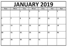 holidays in january 2019