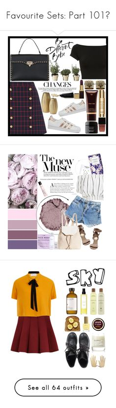 """""""Favourite Sets: Part 101❣"""" by moon-and-starss ❤ liked on Polyvore featuring macgraw, Tom Ford, Helmut Lang, Valentino, Skultuna, Witchery, Sisley, Joanna Buchanan, adidas and H&M"""