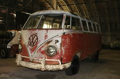 Rough But Running: 1961 VW Samba Bus - http://barnfinds.com/rough-but-running-1961-vw-samba-bus/