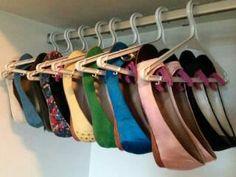 Truco para organizar zapatos
