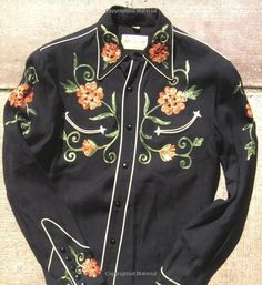 Western Shirts: A Classic American Fashion Cowboy Outfits, Western Outfits, Western Shirts, Vintage Western Wear, Vintage Cowgirl, Chemises Country, 1950s Fashion Menswear, Vintage Outfits, Vintage Fashion