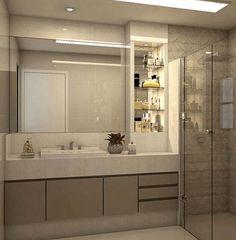 26 Best Bathroom Mirror Ideas For a Small Bathroom - VivieHome Eclectic Bathroom, Chic Bathrooms, Bathroom Styling, Amazing Bathrooms, Modern Bathroom, Contemporary Small Bathrooms, Small Bathtub, Elegant Curtains, Bathroom Design Luxury