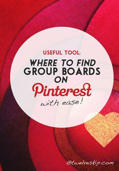 Find Group Boards on
