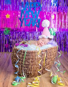 Crochet Party Hat baby first birthday Custom by BitofWhimsyCrochet, $25.99