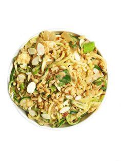 10-minute Pad Thai Zoodles (gluten-free & vegan-friendly)