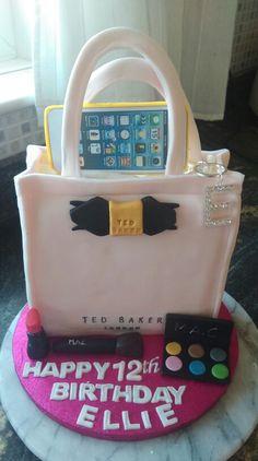 Ted Baker birthday cake Bachlorette Cakes, Ted Baker, Monster Cakes, Cake Decorating, Lunch Box, Birthday Cakes, Decorations, Anniversary Cakes, Bento Box