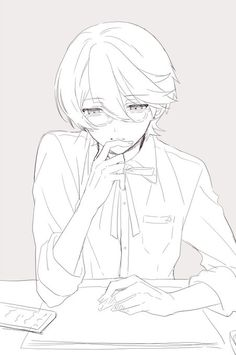 How can I not love Horikawa when he's this adorable? Manga Drawing Tutorials, Drawing Sketches, Drawings, Drawing Body Poses, Drawing Reference Poses, Paladin, Anime Lineart, Manga Poses, Touken Ranbu