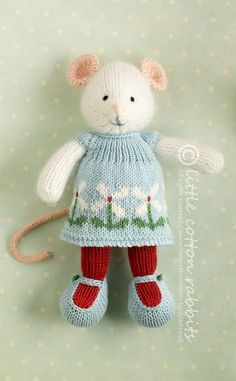 """Marguerite"" by Julie of Little Cotton Rabbits. I've fallen in love with her stuff ♥"