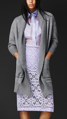 Cashmere Knit Cardigan Jacket | Burberry