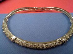 Avon 'Silvertone Pave Bangle Bracelet' ~ 2002