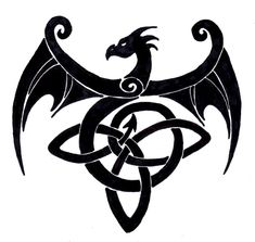 Celtic+Symbols+Dragon | celtic dragons are considered the most powerful of all celtic symbols ...