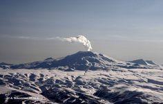 Fumarole activity of Gorely volcano