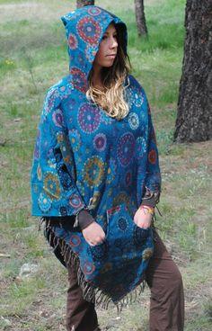 Yak Wool Hooded Poncho - Shawl Elven Hood Hippie Travel Gypsy Elf Fairy Pixie Bohemian by UbuntuThreads on Etsy Poncho Shawl, Hooded Poncho, Wool Poncho, Pixie, Elf, Gypsy, Hoods, Kimono Top, Cover Up
