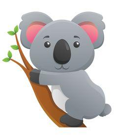 free clip art koala forest animals pinterest clip art free rh pinterest com baby koala bear clipart koala bear clipart black and white