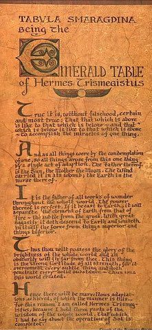 The Full Emerald Tablet
