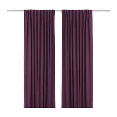 WERNA Block-out curtains, 1 pair