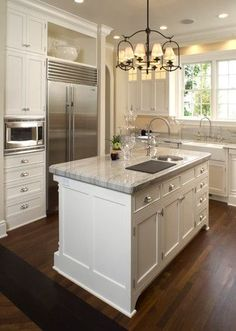 Quartzite Kitchens Design, Pictures, Remodel, Decor and Ideas - page 42