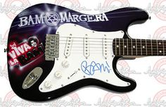BAM MARGERA Autographed Signed AIRBRUSH Guitar PSA/DNA