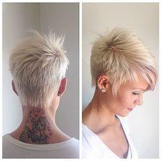 Damen 2017 kurzhaarfrisuren blond Kurzhaarfrisuren