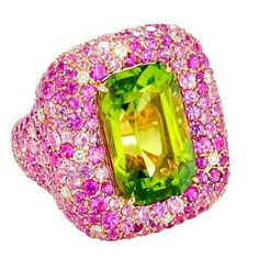 Eye-catching gorgeous Magerit Mckinney ring