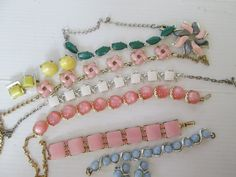 Vintage Thermoset Jewelry Lot Retro In Summer by suburbantreasure, $39.00