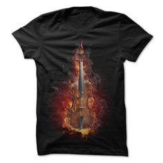 Violin shirts Fire T Shirt, Hoodie, Sweatshirt. Check price ==► http://www.sunshirts.xyz/?p=137597