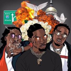 "Stream Migos Type Beat ""KoKo"" Free Type Beat Rap/Trap Instrumental - (Prod By YorkBeats) by YorkMoneyBeats from desktop or your mobile device Black Love Art, Black Girl Art, Art Girl, Gucci Wallpaper, Supreme Wallpaper, Rap Wallpaper, Arte Do Hip Hop, Hip Hop Art, Migos Wallpaper"