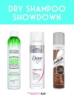 Beauty blogger shares her picks for the best dry shampoos at every price. Must-pin for anyone that wants to spruce up that second-day hair!