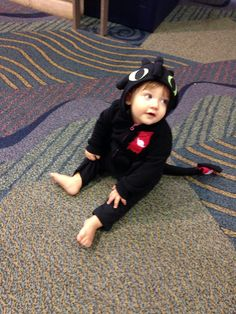 This is my son dressed up as Toothless from HTTYD for Megacon 2016 in Orlando