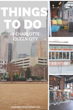Things To Do In Charlotte, NC | Are you thinking about making a trip to Charlotte, NC? I'm sharing places to check out, where you can eat, and options to stay while you visit the Queen City. #travel #weekendgetaway