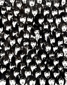 ninety one good chinese girls - giclee art print by Jennifer Hom.