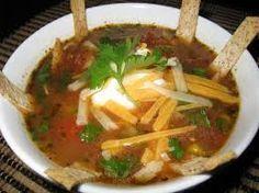 Outback Steakhouse Copycat Recipes: Chicken Tortilla Soup