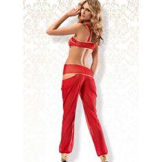 Aida Seksi Kırmızı Dansöz Kostümü