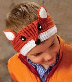 Fox Headband Crochet Pattern (FREE)