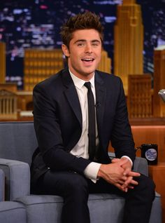 "Zac Efron Visits ""The Tonight Show Starring Jimmy Fallon"" ~ May 7, 2014"