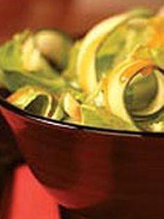 Cucumber Ribbon Salad