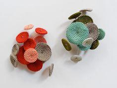 Crocheted broches by Vera Joao Espinha