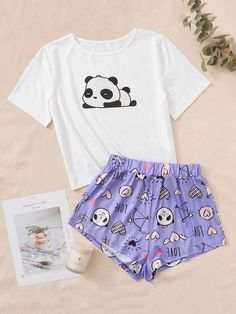 Cute Pajama Sets, Cute Pjs, Cute Pajamas, Pajamas Women, Cute Outfits For Kids, Cute Casual Outfits, Outfits For Teens, Girls Fashion Clothes, Teen Fashion Outfits