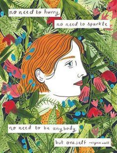 Art Virginia Woolf