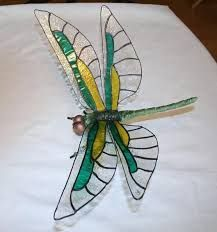Resultado de imagen para glass art patterns fusible glass projects #StainedGlassDragonfly