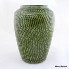 Boveskov Vase med grøn glasur