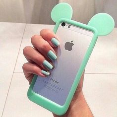 phone cover mint mickey mouse bag cute cases home accessory micky mouse ear iphone case blouse mint green mickey mouse bumper case blue cool disney iphone 6 case mint phone case mickey mouse iphone 6 cases green turquoise Cute Iphone 6 Cases, Cheap Phone Cases, Disney Phone Cases, Cool Cases, Coque Iphone 4, Smartphone, Accessoires Iphone, Ipod 5, Iphone Accessories