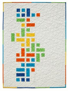 Modern Pickle Relish Crib Size | Visit our blog for pattern … | Flickr