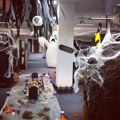 office decorations for halloween. halloween cubicle decorations office for