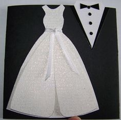 Wedding - tux and gown sparkly