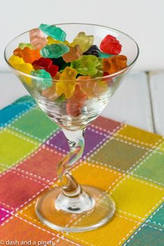 Sooo maybe not a drink, but these are amazing!  If you haven't had gummy bears soaked in Vodka then you have got to give them a try.  Just be careful to not eat too many.  Their tastiness can be deceiving...  Eat responsibly :) SECfootball101.com gummy bears, martini, gummi bear, parti drink