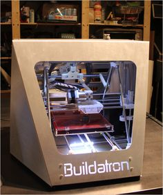 Cool Stuff We Like Here @ CoolPile.com ------- << Original Comment >> ------- Buildatron: low-cost 3D printer.