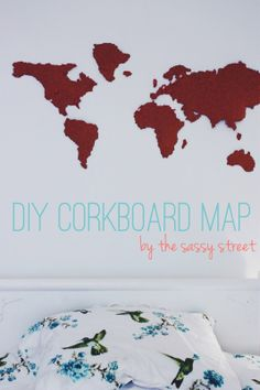 Finally!!! I found a world map to make that I can pin my destinations and will LOVE IT. #happydance #travel #world