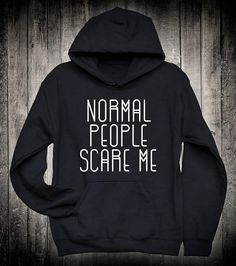 Funny Slogan Unisex Hoodie I See Dumb People